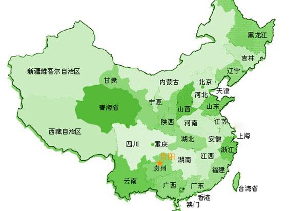 万凡环保中国地图